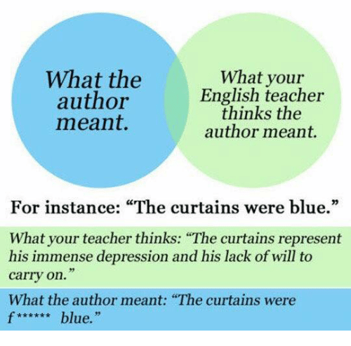 Curtains are blue